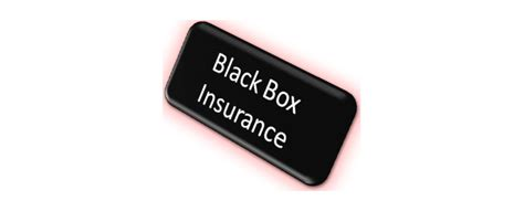 Car Insurance Box - black box insurance what is it and will you benefit