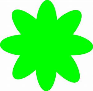 Lime Green Flower Clip Art at Clker.com - vector clip art ...