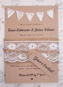 best 25 wedding invites lace ideas on pinterest diy With rustic wedding invitations ireland
