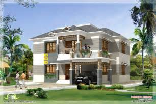 free house plan 2700 sq kerala style home plan and elevation kerala home design and floor plans
