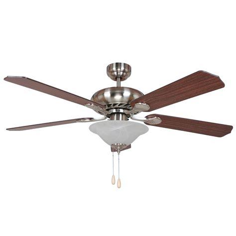 home decor ceiling fans y decor bodi 52 in brushed nickel ceiling fan bodi bbn 1