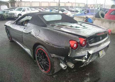 crashed lamborghini for sale wrecked ferrari exotic cars for sale repairable salvage