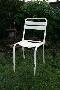Chaise Bistrot Metal : chaise bistrot en fer ~ Teatrodelosmanantiales.com Idées de Décoration