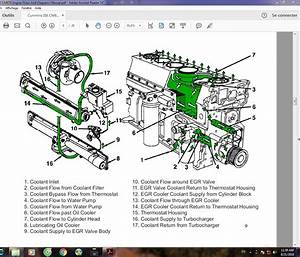 Cummins Isx Egr Cooler Diagram