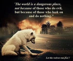 Silent The world is a dangerous place, not beause of ...