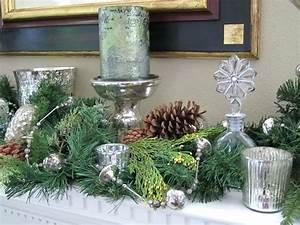 Tischdeko Zu Weihnachten Ideen : tischdeko zu weihnachten in silber und gra 1 4 n 29 ideen dekoration mit tannenzweigen deko ~ Markanthonyermac.com Haus und Dekorationen