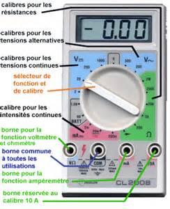 Utilisation D Un Multimètre Digital : electicite4eme sciences physiques coll ge activit s cours tp ~ Gottalentnigeria.com Avis de Voitures
