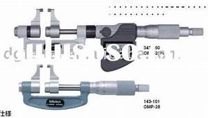Mitutoyo Micrometer Parts Diagram  Mitutoyo Micrometer