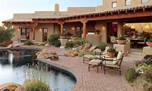 patio arizona and traditional homes on