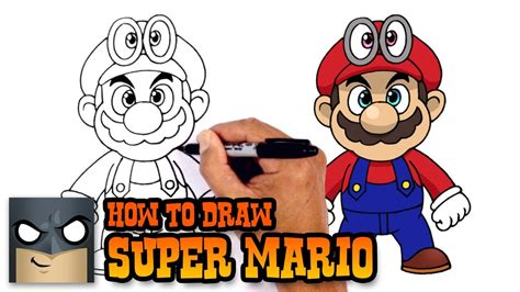How To Draw Super Mario Super Mario Odyssey Youtube
