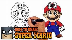 How to Draw Super Mario | Super Mario Odyssey - YouTube