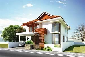 Beautiful, Contemporary, House, Exterior, Ideas, 7903