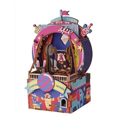 robotime australia amusement park  box diy kits
