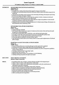 basketball resume examples twnctry With basketball player resume template