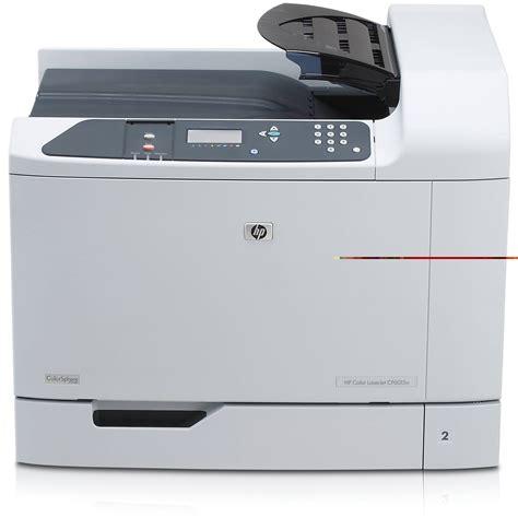hp laser color printer hp laserjet cp6015dn network color laser printer q3932a