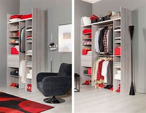Dressing petite chambre idees accueil design et mobilier for Idee dressing petite chambre