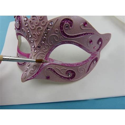 Faschingsmasken Selber Basteln by Faschingsmasken Selber Basteln Mit Farbe Und Glitter