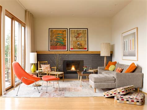 mesmerizing mid century modern living rooms