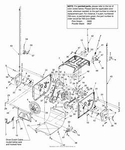 Mtd 31ae558g099  247 888530   2003  Parts Diagram For Transmission Assembly