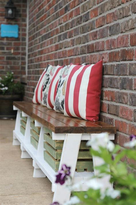 diy outdoor bench ideas  designs
