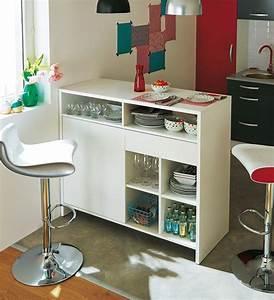 Table Rangement Cuisine : bar de cuisine avec rangement 10 nous voici doracnavant une table ~ Teatrodelosmanantiales.com Idées de Décoration