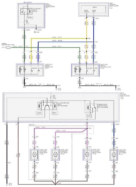 2006 Ford F 150 Door Lock Wiring Diagram by Power Door Lock Fuse Keeps Blowing Ford Truck