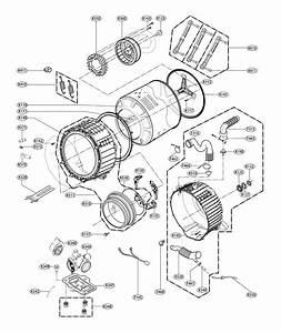 Lg Wm3670hra  00 Washer Parts
