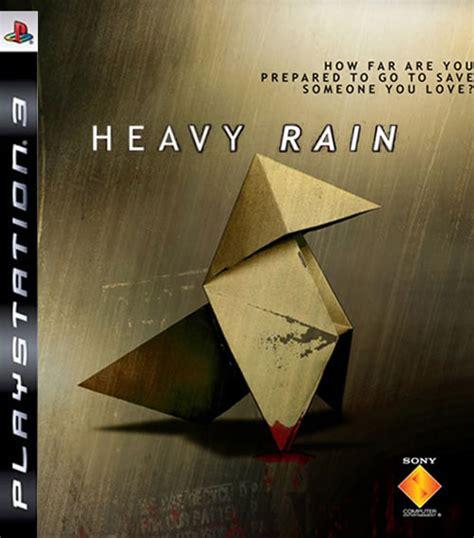 heavy rain game cover