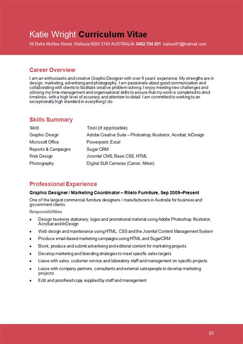 resume for graphic designers resume format resume format graphic designer