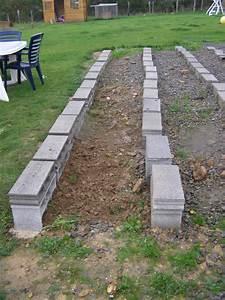 lambourde composite sur parpaing pour terrasse boi from With terrasse bois sur parpaing plein