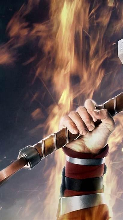 Thor Hammer Mjolnir 4k Samsung Wallpapers Iphone