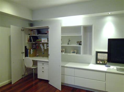 juste pour le bureau cach 233 dans le placard storage ideas cupboard storage wall cabinets