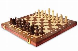 Jeu D échec Design : jeu d 39 checs de luxe en bois naturel 40 cm ~ Preciouscoupons.com Idées de Décoration
