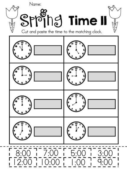 12 best images of telling time worksheets 2nd grade math