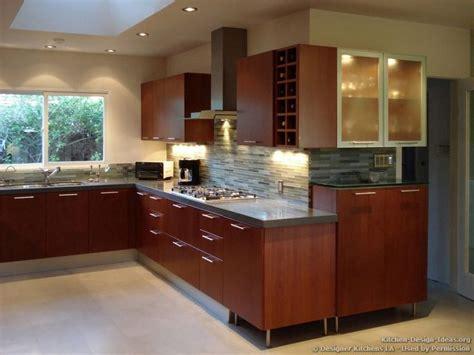 modern cherry kitchen glass tile backsplash designer