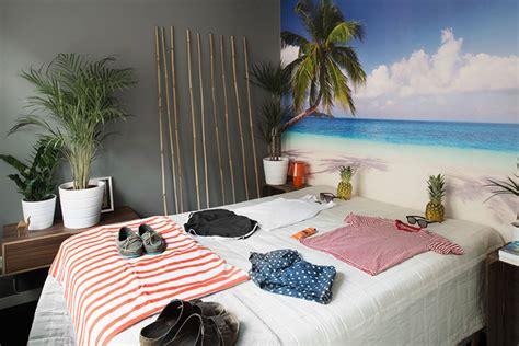 déco chambre plage