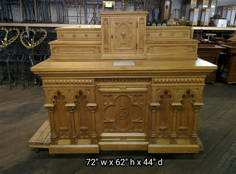 used furnitures for sale altars used church items