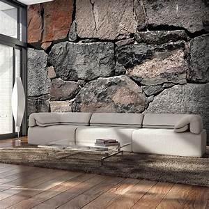 VLIES FOTOTAPETE 3D Steinwand TAPETE TAPETEN Schlafzimmer