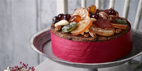 christmas dessert recipe jewelled fruit cake