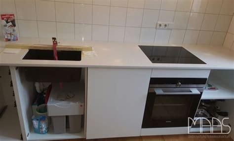 München Ikea Küche Mit Caesarstone Arbeitsplatte Frosty