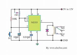 Basic Timer Control With Ne555 Circuit Diagram World