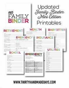 Home Organization Printables - The Idea Room