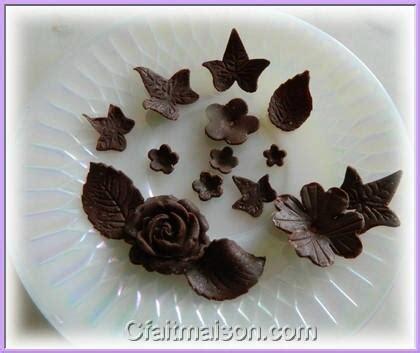 decoration en chocolat pour gateau id 233 es de d 233 coration