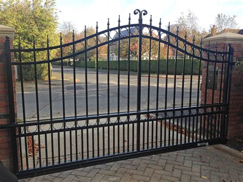 sliding wrought iron gate bft automation east