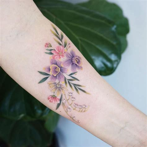 fine  pastel tattoos