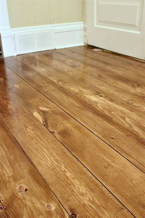 how to a wood floor how to install beautiful wood floors using basic unfinished lumber the creek line house
