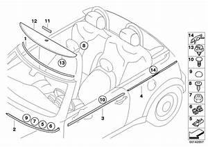 Parts For Mini R52  Convertible  Cooper  Ece  Vehicle Trim
