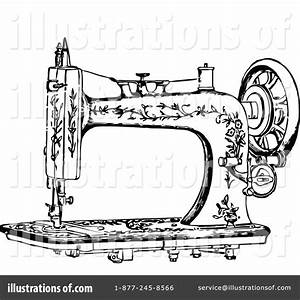 Sewing Clipart #1115058 - Illustration by Prawny Vintage