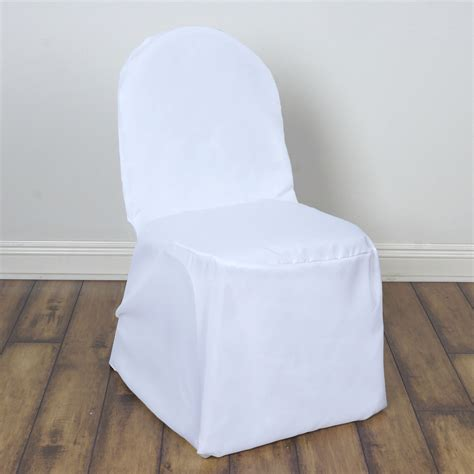 75 pcs polyester banquet chair covers wedding wholesale