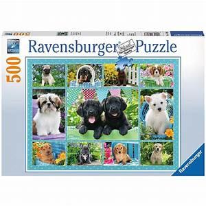 Puzzle Online Kaufen : putzige h ndchen 500 teile ravensburger puzzle online kaufen ~ Watch28wear.com Haus und Dekorationen